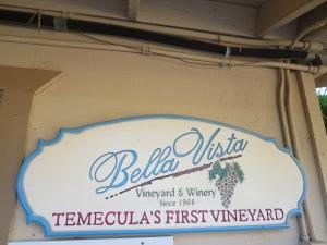 Bella Vista Vineyard and Winery in Temecula