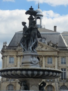 The Three Graces in Bordeaux