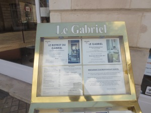 Michelin-starred Le Gabriel in Bordeaux