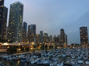 Chicago from the Columbia Yacht Club