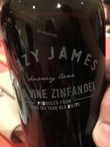 Lizzy James Old Vine Zinfandel
