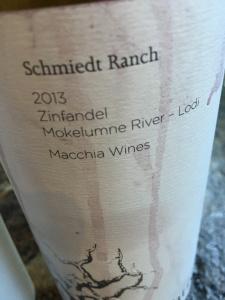 Schmiedt Ranch 2013 Zinfandel