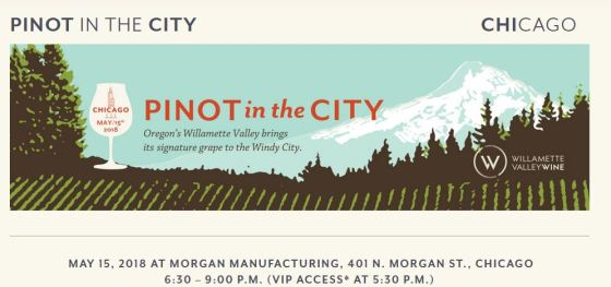 Calling all Pinot Noir Wine Lovers: Pinot in the City 2018 in