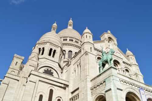 heart france paris monument