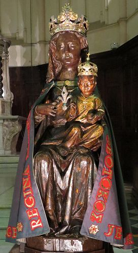Image result for The Abbey of St. Victor black madonna marseille